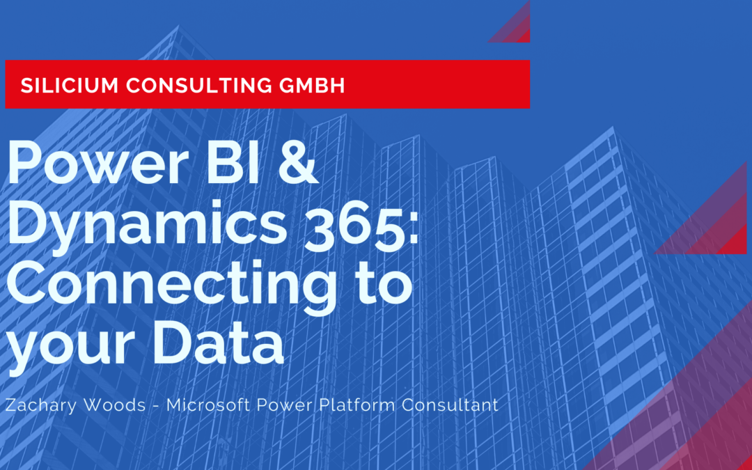 Power BI & Microsoft Dynamics: Connecting to your Data 📊